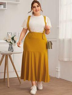 Stylish Dresses For Girls, Simple Dresses, Beautiful Dresses, Nice Dresses, Big Size Dress, Plus Size Dresses, Plus Size Outfits, Curvy Fashion, Plus Size Fashion