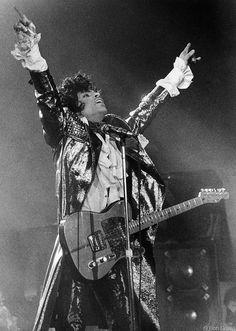 Prince, NYC, 1985