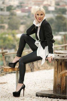 Faux-leather-redherring-leggings-jane-norman-blazer