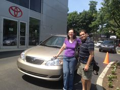 Ardmore Toyota congratulates Laura & Federico on their Toyota Corolla on behalf of Salesperson Q Azad.
