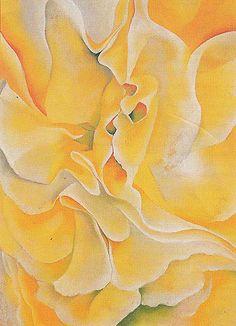 Georgia O'Keeffe. Yellow Sweet Peas 1925