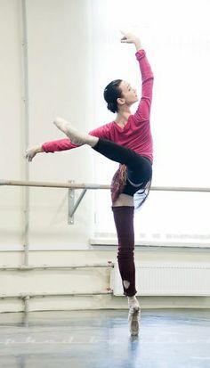 Olesya Novikova rehearsing Nacho Duato's The Sleeping Beauty. Photo by Nikolay Krusser