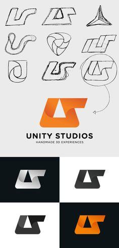 Unity Studios | Identity and online profile on Web Design Served | #corporate #branding #creative #logo #personalized #identity #design #corporatedesign < repinned by www.BlickeDeeler.de | Visit our website www.blickedeeler.de/leistungen/corporate-design/logo-gestaltung