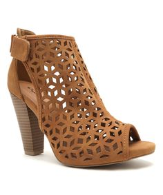 Look at this #zulilyfind! Qupid Tan Bailey Sandal by Qupid #zulilyfinds