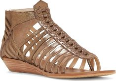 5ff7e6e2512c4d Vince Camuto Shoes - Transform your look wearing the Vince Camuto Seanna  Thong Wedge Sandal. This strappy sandal flaunts a low demi-wedge with  knotted ...