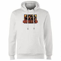 Buy Star Wars Rebels Logo Hoodie - White today at IWOOT. Plain White T Shirt, White Hoodie, Star Wars Hoodie, Star Wars Rebels, Disney Star Wars, Star Wars Characters, Hoodies, Sweatshirts, Stars