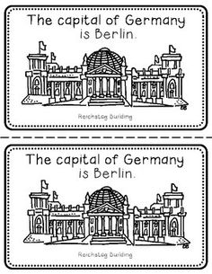 Germany Booklet (a country study!)