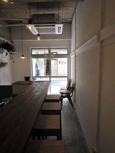 Cafe Shop Design, House Design, Japanese Coffee Shop, Cafe Interior, Interior Design, Love Cafe, Cafe Concept, Food Stands, Wall Bar