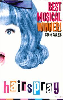 """Hairspray is the first musical Ever seen. She likes this musical! She said that she wants to play in the musical hairspray but she couldn't do it because she was to """"fat""""! Broadway Plays, Broadway Theatre, Musical Theatre, Broadway Shows, Broadway Nyc, Broadway Party, Theatre Plays, Theatre Shows, Theatre Geek"""
