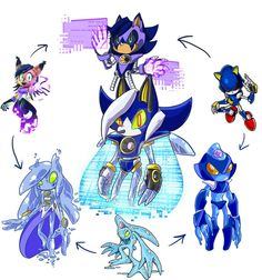 Hexafusion: Digital Gods by rae-gal