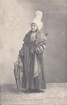 costume regional normand - cauchoise