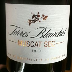 Terres Blanches - Muscat Sec Pays d'Oc