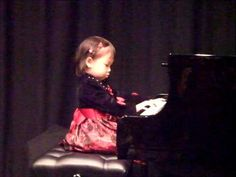 "3 years old kid's piano performance ""ode to Joy, london bridge, this old man"" - YouTube"