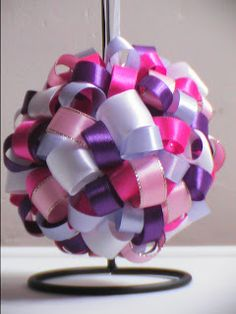 New Leaf Crafts: Its A Girl Ornament / Bauble / Decoration  + how to video
