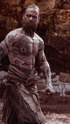 Baldur was the Norse Aesir God of Light and the main antagonist of God of War He was the son of Odin and Frigg, half-brother of Thor and Týr, and the half-uncle of Magni, Modi, and Thrúd. War Tattoo, Norse Tattoo, Viking Tattoos, Warrior Tattoos, Armor Tattoo, Tattoo Ink, Viking Art, Viking Symbols, Viking Warrior