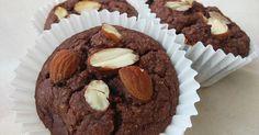 Banánové muffiny s kefírem, mandlemi a bez přidaného cukru