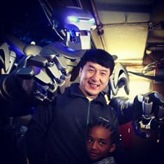 Jackie Chan and @christiaingrey were great people to meet! I even showed Jackie a few karate moves myself!  FOLLOW ON FACEBOOK AND CHECK OUT http://ift.tt/1vudrZL #titantherobot #robot #future #jadensmith #business #corporate #entertainment #event #streetperformer #film #instagood #world #famous #sing #dance #willsmith #celebrity #amazing #music #fun #goodtimes #photooftheday #picoftheday  #titan #cool #goodtimes #jackiechan #martialarts #karate #karatekid by titantherobot