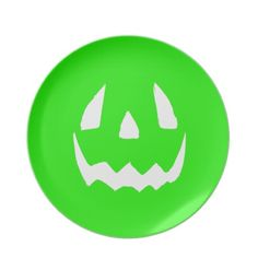 Happy Hallowgreen Plates