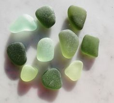 Sea Glass Stones to Bezel Set Beach Glass by GlassBeachSeaGlass, $13.50