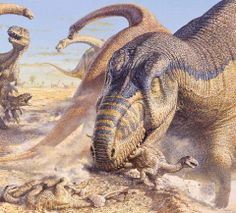 Love in the Time of Chasmosaurs: Dinosaur Art: it's quite pretty