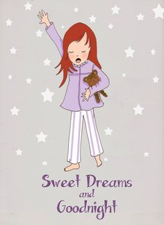 Sweet Dreams and Good Night ~ Rose Hill Designs by Heather A Stillufsen