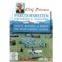 Design, Building & Riding Show Jumping Courses by Olaf Petersen | reviewed in the November 2012 issue of Practical Horseman| DVD | 46 minutes | $45 | www.HorseBooksEtc.com