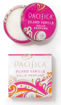 All Natural Perfume - Spray, Solid, Roll-On - Pacifica, Indigo Wild, Badger Pacifica Perfume, Pacifica Beauty, Vanilla Perfume, Solid Perfume, Body Lotions, Diy Beauty, Beauty Stuff, Beauty Ideas, Natural Oils
