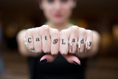 These temporary finger tattoos: