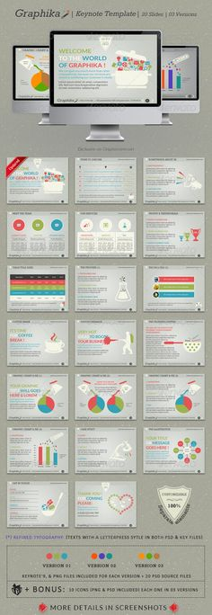 Graphika Keynote Template - GraphicRiver Item for Sale