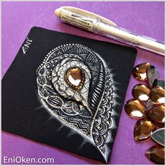 Learn how to create amazing Zentangle:registered: • enioken.com