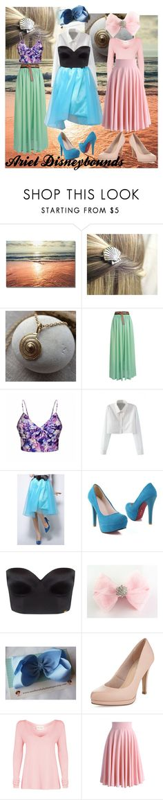 """""""Ariel Disneybounds"""" by a-m-strevens ❤ liked on Polyvore featuring Ally Fashion, WithChic, Ultimo, Limited Edition, American Vintage and Chicwish"""