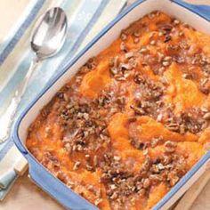 Pecan Sweet Potato Bake