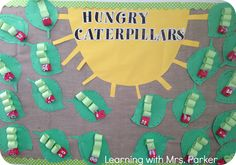 Learning With Mrs. Parker: The Very Hungry Caterpillar Craft