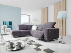 Sofa Couchgarnitur Couch LOTTA Polsterecke Wohnlandschaft bewegl. relax Sessel