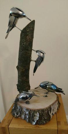 Cutlery art display
