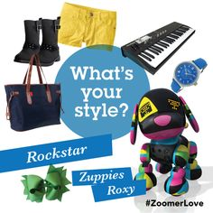 What's your style? Are you a Rockstar like Roxy? #ZoomerZuppies