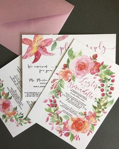 This invitation suite flew to Manila today. And my heart went with it.          #watercolorinvite #weddinginviteph #wedding #weddingsph #watercolorph #calligraphy #calligraphyph #cebucalligraphy #calligrapher #flourishforum #handwritten #handdrawn #artinvite #art #rsvp #brushcalligraphy #love #passion #firstofaprildesigns #firstofaprilinvites #FOAinvites #firstofapril