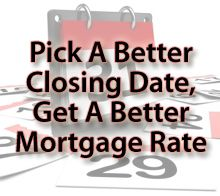 Picking the right date could save you money!: Mortgage Tips by Santa Rosa mortgage broker Elise Groves