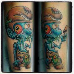#tattoo #toon #tattoodesign #the_inkmasters #uktt #igerslublin #art #sketch #smurf #sun #drawing #design #great_art #florianapplevine #cartoontattoo #colortattoo #cartoon #color #PerlaTattoo #konwent #wLublinie