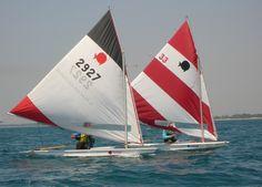 my second #sail - #sunfish