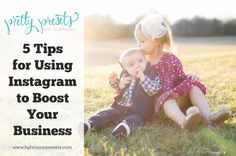 5 Tips for Using Instagram to Boost Your Photography Business. We all know how Facebook is a great tool for our photography businesses. Most of us have business pages and are actively sharing our work to get noticed and get