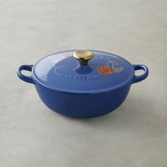 Le Creuset Beauty and the Beast Soup Pot #williamssonoma