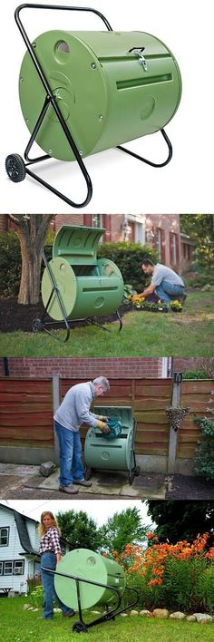 Other Composting and Yard Waste 181026: Mantis Back Porch Compostumbler Ct08002 - Engineered To Make Compost Fast - 37 - -> BUY IT NOW ONLY: $316.53 on eBay!