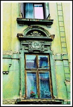 Old Window in Plzen.