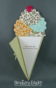addINKtive designs:ice cream cone card