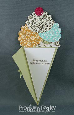 addINKtive designs:ice cream cone card