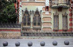 Casa Vicens by Antoni Gaudi in Barcelona, Spain