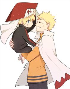 naruto with his kids is one of my fave fanarts to see tbh