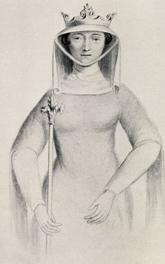 Isabella of France - one of history's most famous femme fatales, Edward II's French queen famously overthrew her husband with the aid of her lover, Roger Mortimer, in 1326. After her son, Edward, wrested back power, Mortimer was executed, but Isabella was allowed to live.