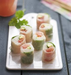 maki pamplemousse courgettes